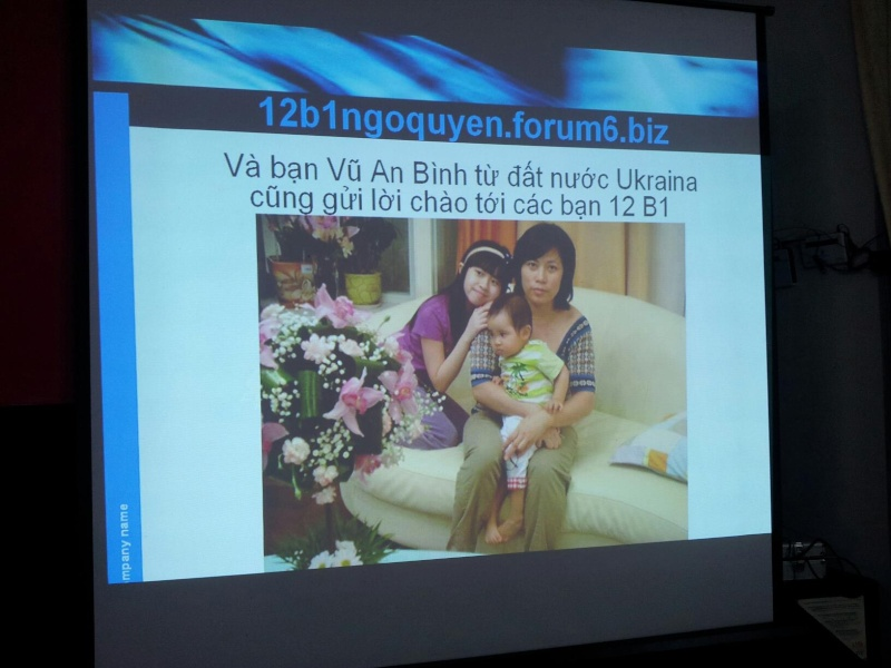 Những hình ảnh ấn tượng trong buổi họp lớp 30 năm An_bin10
