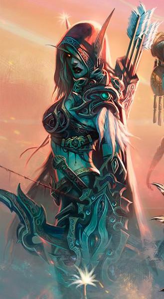 warcraft historia do mundo Sylvan10
