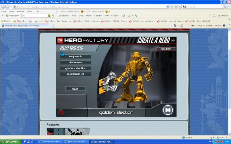 [Fans-Arts] Vos Heros De le fabrique de heros Golden10