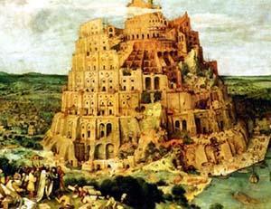 Toute la terre avait une seule langue et les mêmes mots. — Gen. 11:1. Babel10
