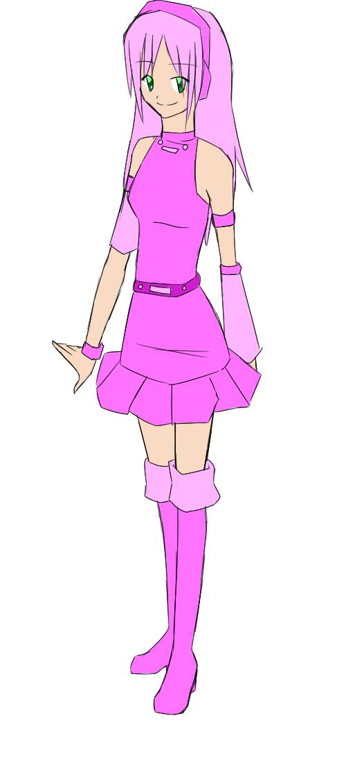 Kamane Pinku full body art Pinku_10