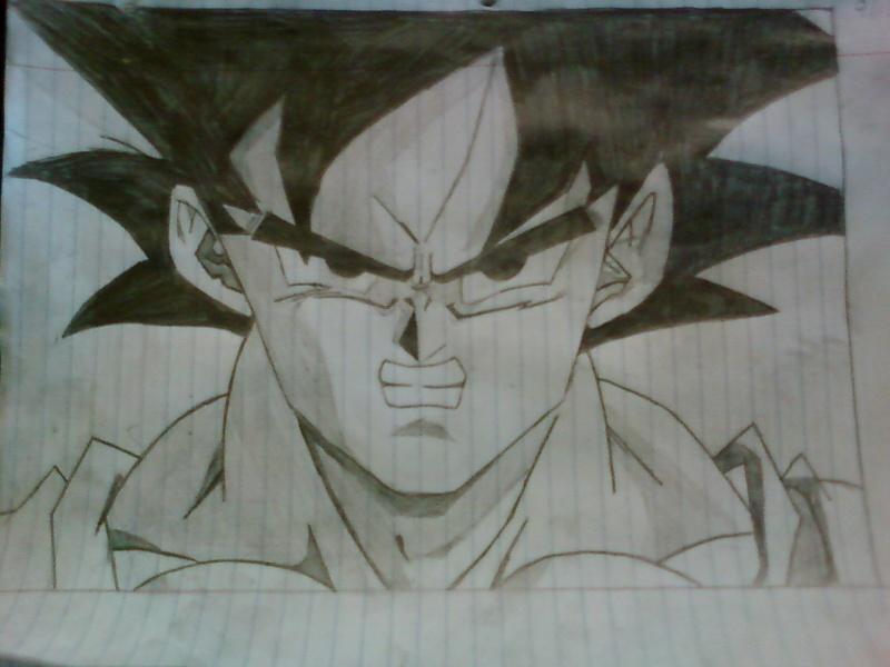 My Goku Drawing Goku_d10