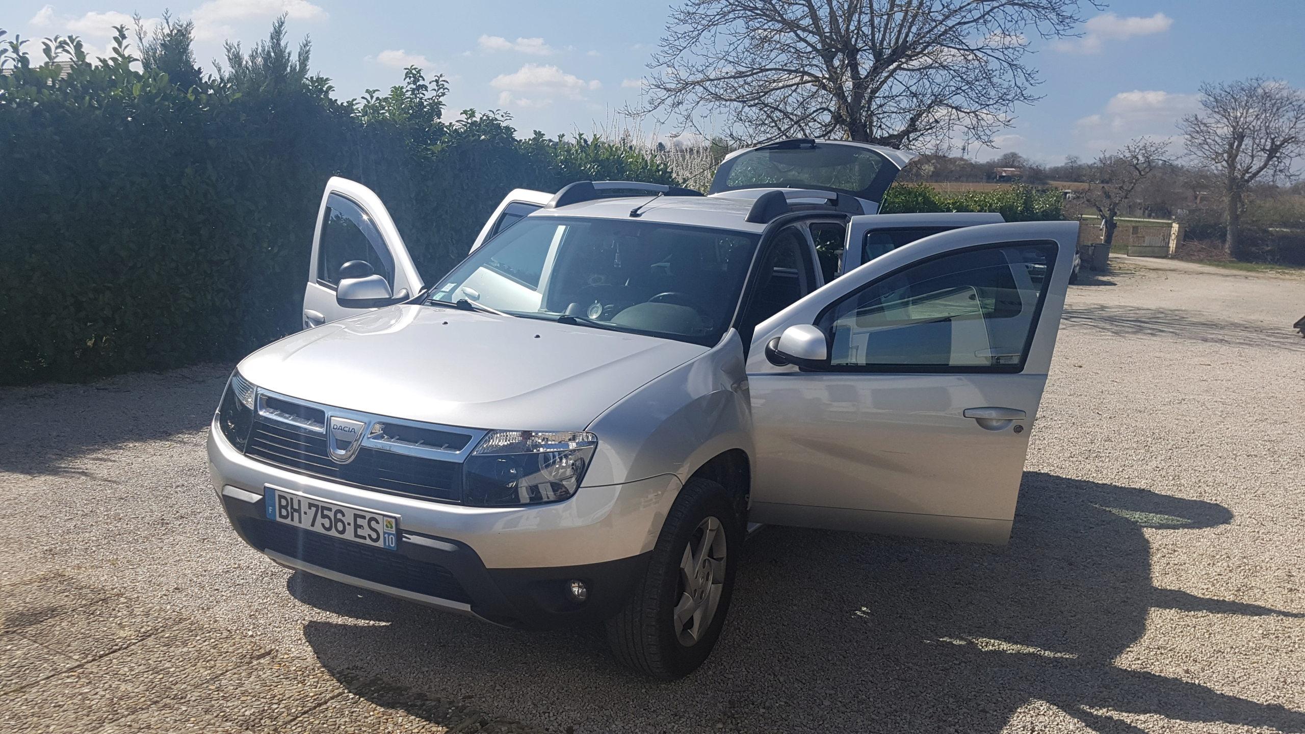Dacia Duster 4x4 2011 en bourgogne  20190310