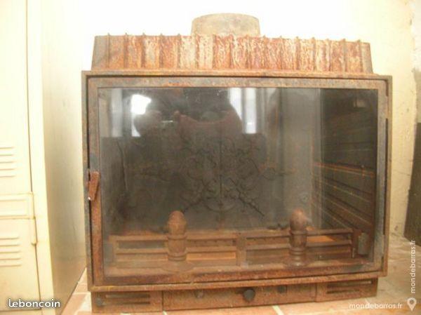 foyer insert de cheminée  89 euros C6996910