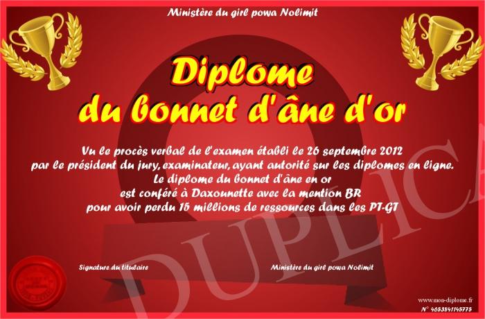 video de la semaine du 09/04 au 15/04 Diplom10
