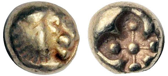 Vers l'origine de la monnaie frappée Hemihe11
