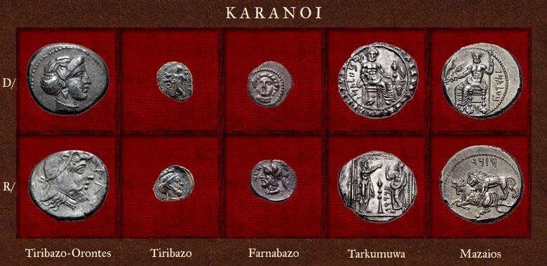 statere de Tiribazos-Orontes Karano10