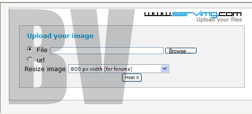 How to host a image Upload10