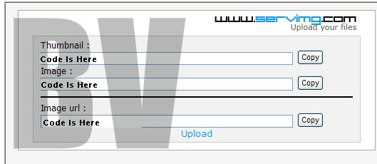 How to host a image Upload12