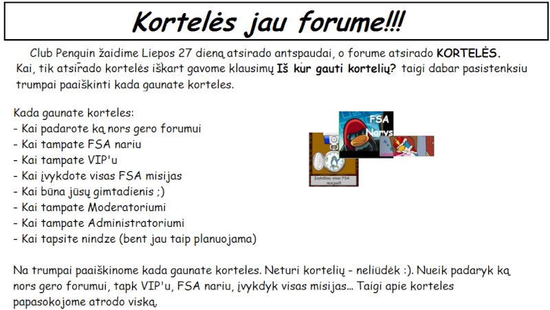 Oficialus forumo laikraštis #1 - 2010m. Rugpjūtis Forumo11