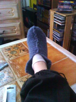 chausson en laine Dsc01023