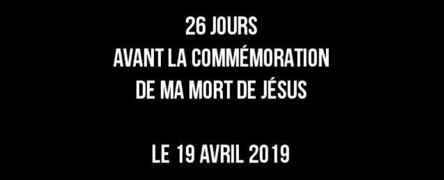 Le memorial VENDREDI 19 AVRIL 2019, Y assisterez-vous? 20190330
