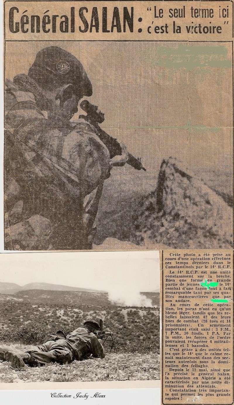 Quelques photos envoyées par Jacky ALAUX ,caporal au 14éme RCP Le_14e10
