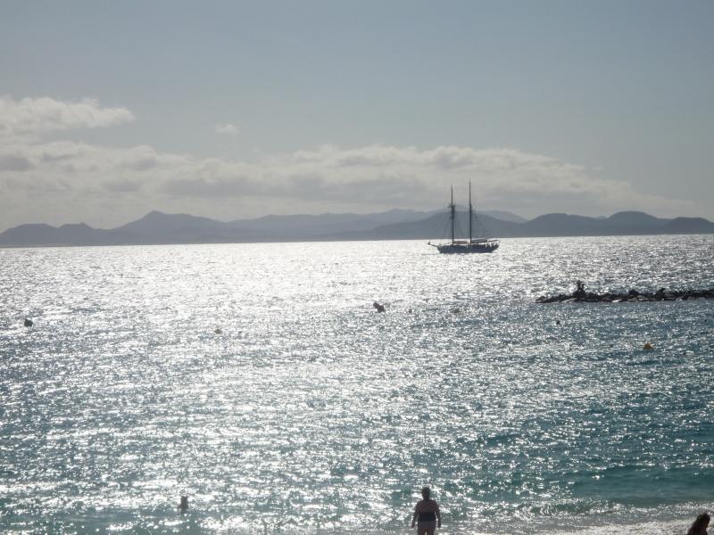 Canary Islands, Lanzarote, Puerto de Carmen, Playa Blanca 19710