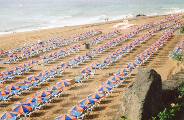 Canary Islands, Lanzarote, Puerto de Carmen, Playa Blanca Img19010