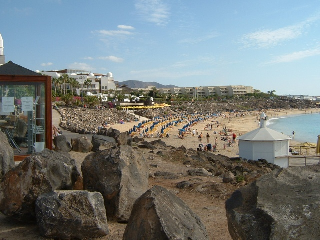 Canary Islands, Lanzarote, Puerto de Carmen, Playa Blanca Pictur60