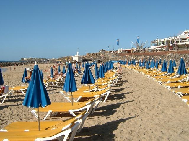 Canary Islands, Lanzarote, Puerto de Carmen, Playa Blanca Pictur61