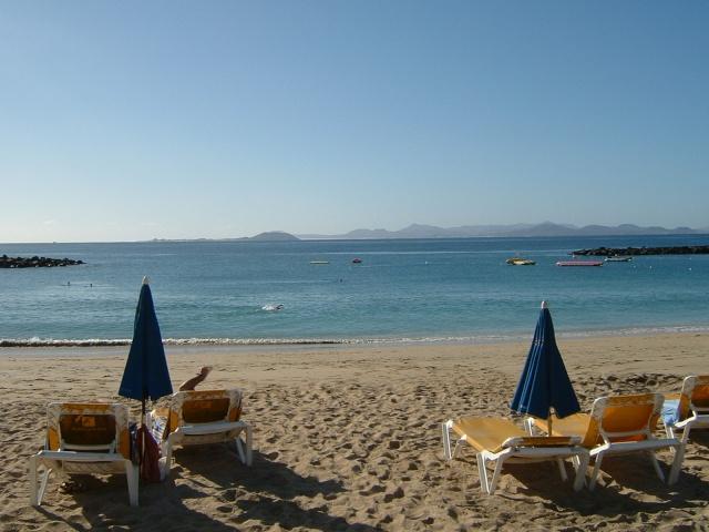 Canary Islands, Lanzarote, Puerto de Carmen, Playa Blanca Pictur62