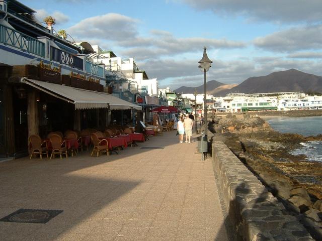 Canary Islands, Lanzarote, Puerto de Carmen, Playa Blanca Pictur65