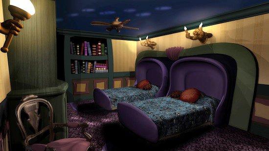 Camere A Tema Disney : Camere a tema disney: stanzetta per il bebè idea fai da te wall