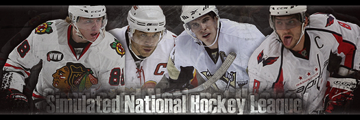 Simulated National Hockey League