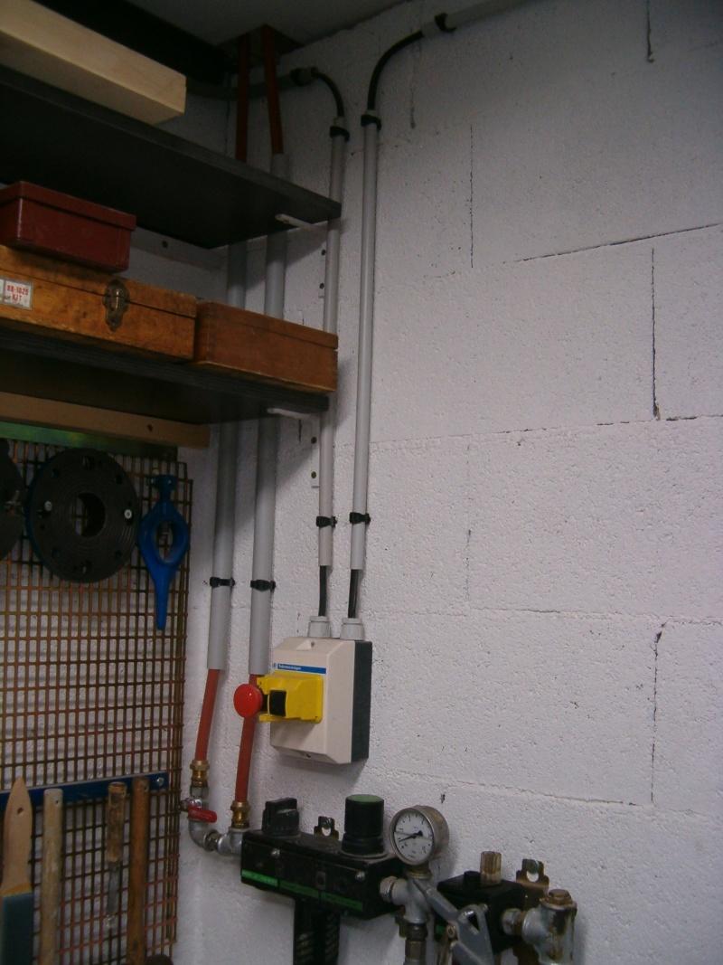 Nouvelle installation 380 et 220 dans mon petit atelier. Hpim2513