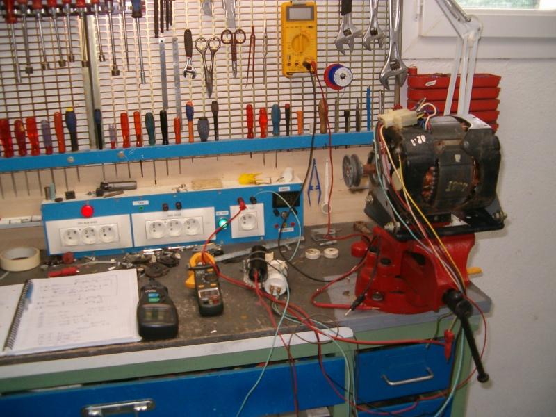 Récupération d'un moteur de lave linge Brandt Statomatic Hpim2614
