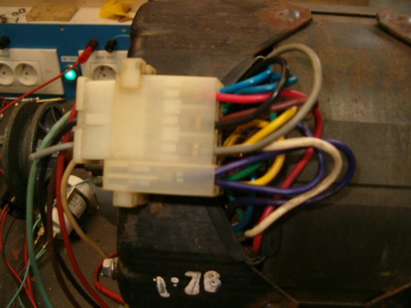 Récupération d'un moteur de lave linge Brandt Statomatic Hpim2615
