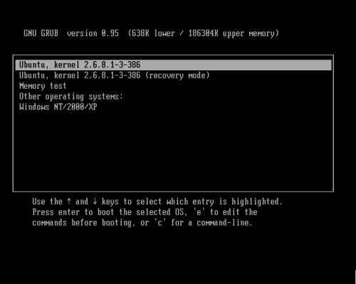 Linux: L'alternative à Windows Grub12