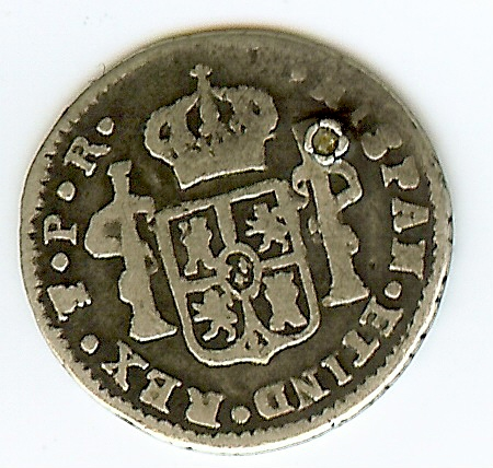 1791 Carolus IIII  Back10