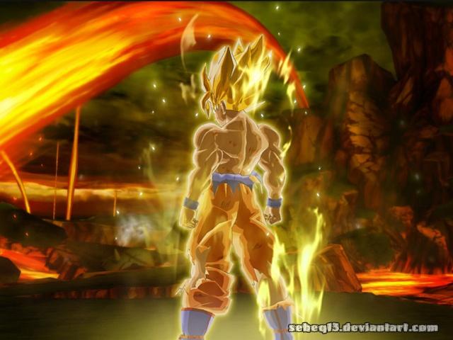 dragon ball z Goku_w10