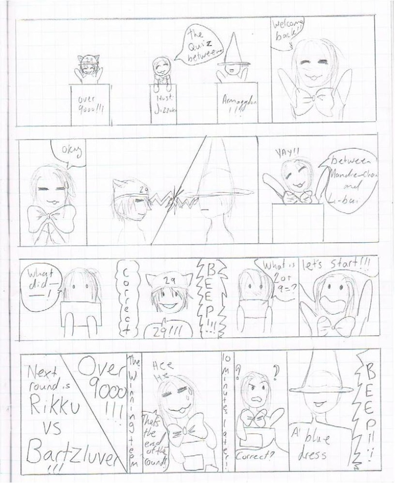The Comic Game Show!! Part of CNZ comic :3 #6 Lol10