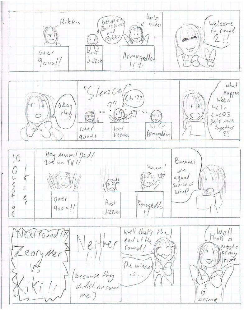 The Comic Game Show!! Part of CNZ comic :3 #6 Lolz10