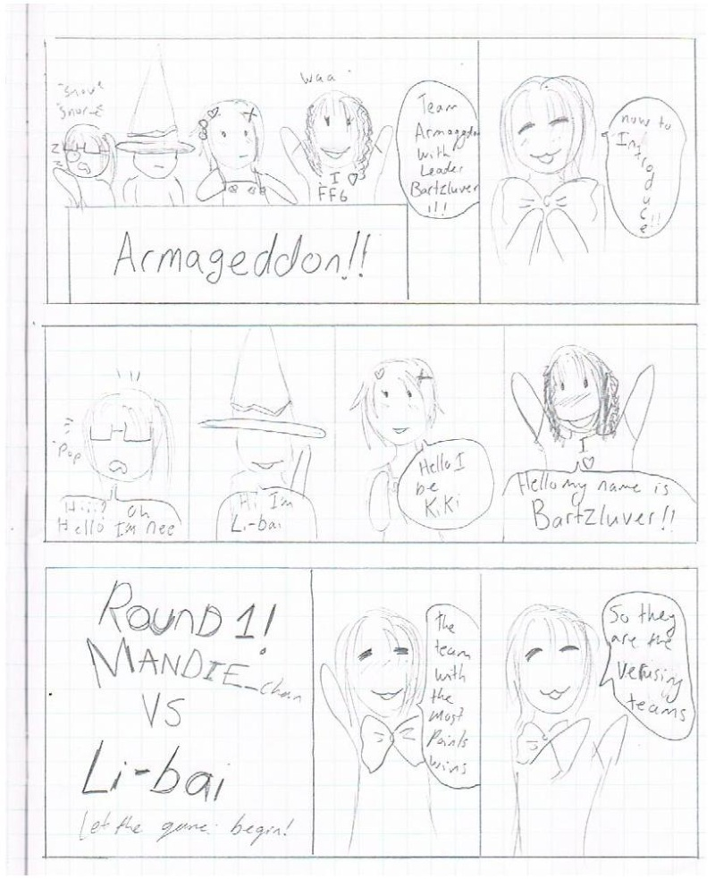 The Comic Game Show!! Part of CNZ comic :3 #6 Ref10