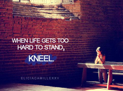 My Story... Kneel10