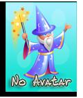 No Avatar Blue10