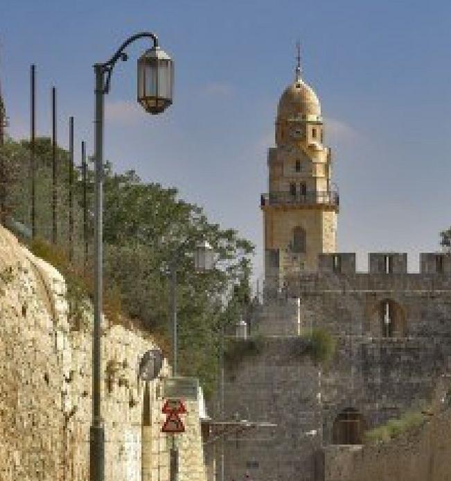 A TRAVERS LES RUELLES DE LA VIEILLES VILLE DE JERUSALEM 111