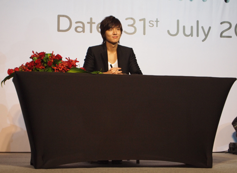 LEE MIN HO Meet-and-Greet Event In Singapore Sg210
