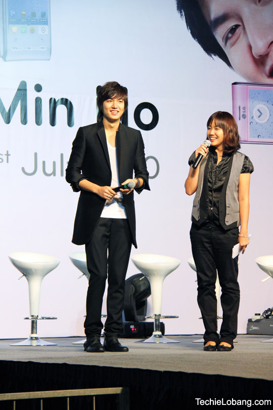 LEE MIN HO Meet-and-Greet Event In Singapore Sg310