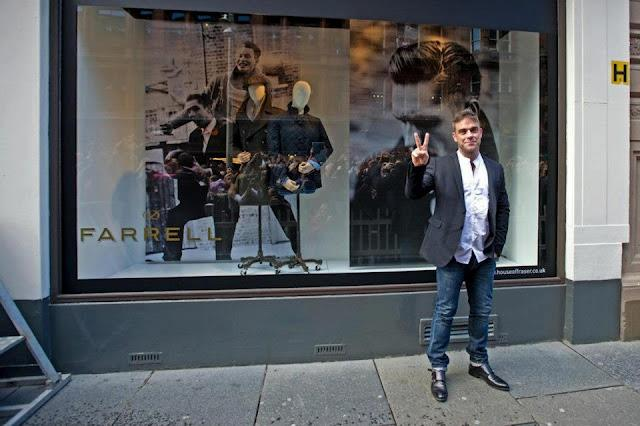 Robbie inauguration Farrell Glasgow 12.09.12 39526710