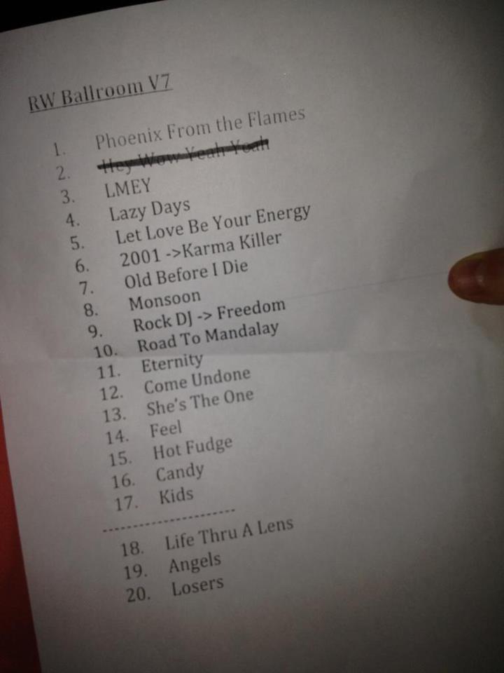 concert Leeds 11.09.12 Set10
