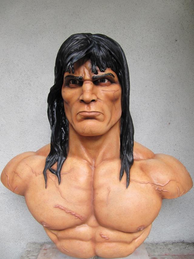 Buste Conan 1/1 sculpture par chloui . Img_7513