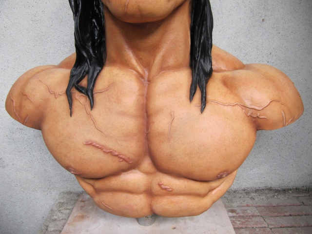 Buste Conan 1/1 sculpture par chloui . Img_7514