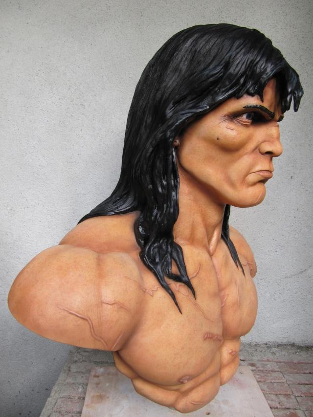 Buste Conan 1/1 sculpture par chloui . Img_7516