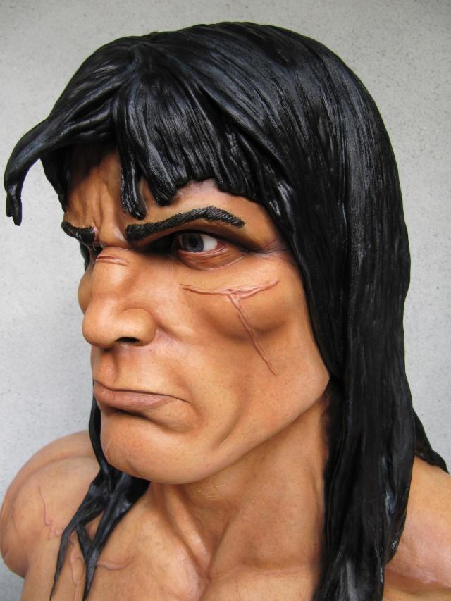 Buste Conan 1/1 sculpture par chloui . Img_7518