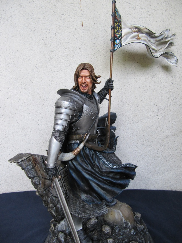 Repaint Polystone Boromir . - Page 2 Img_7527