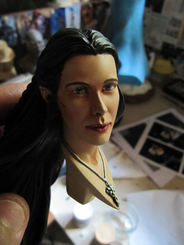 Repaint Polystone Boromir . - Page 2 Img_7529