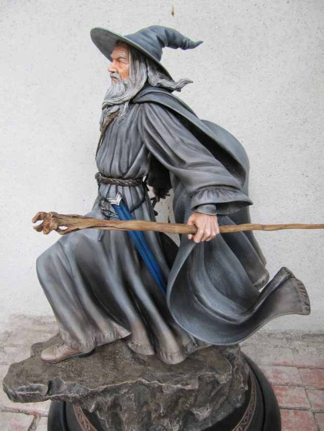 Repaint Polystone Gandalf . Img_7622