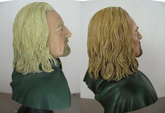 Repaint Buste Weta Sideshow . Theo510