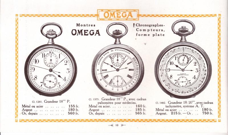 Sympathique chronographe de médecin OMEGA Omega_11